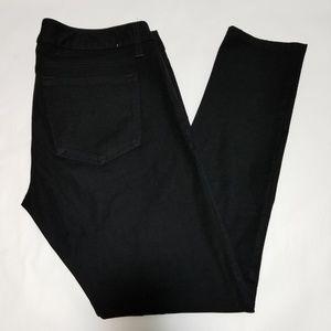 Banana Republic Black Skinny Leg Pants